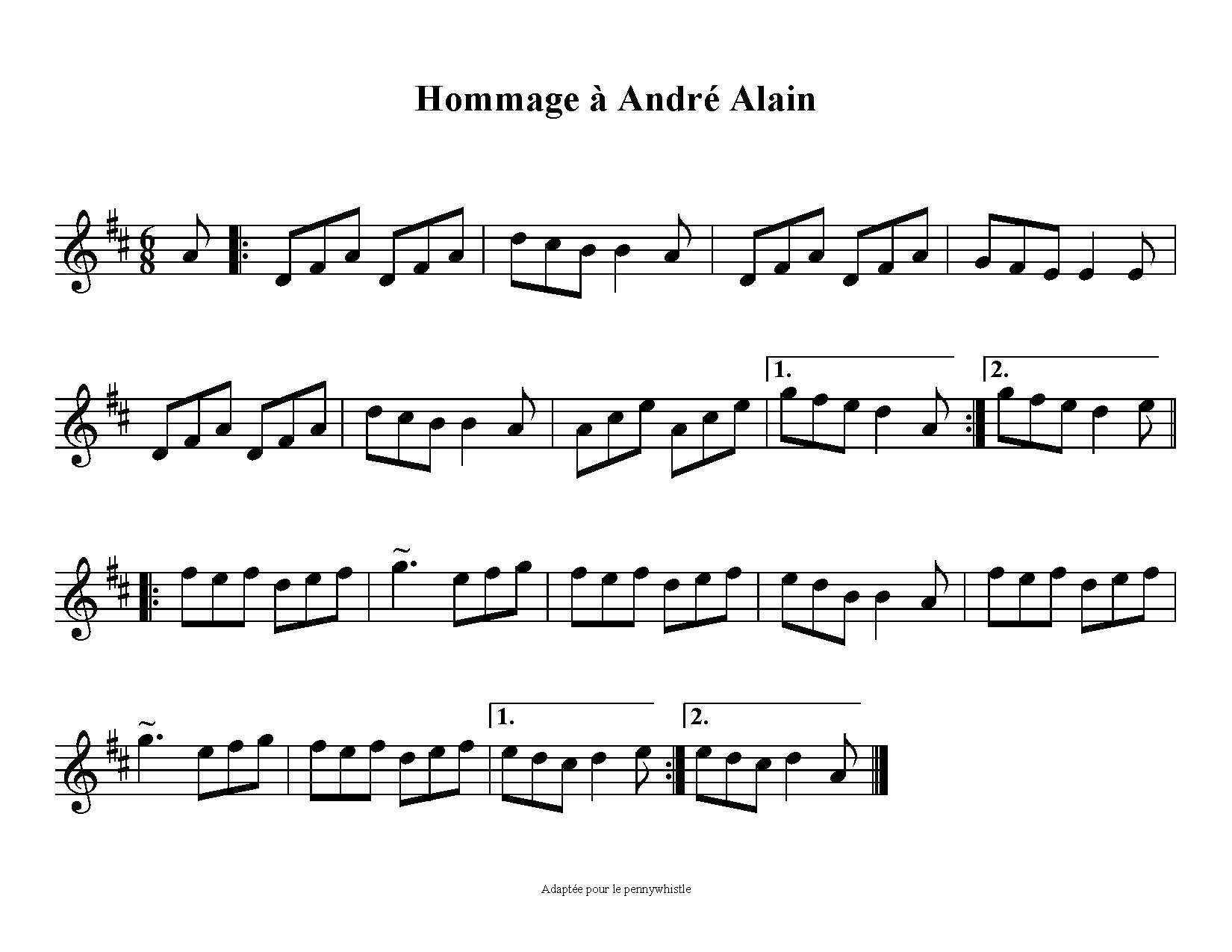 TQ483 - 6/8 d'André Alain